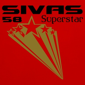 Dark orange Sivas Superstar 58 T-Shirts - Kontrast-Hoodie