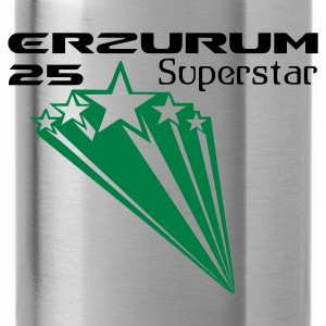 Dark orange ERZURUM 25 SUPERSTAR T-Shirts - Trinkflasche