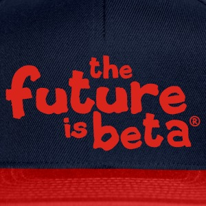 Dark navy The future is beta T-Shirts - Snapback Cap