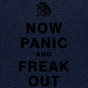NOW PANIC AND FREAK OUT T-Shirts - Snapback Cap