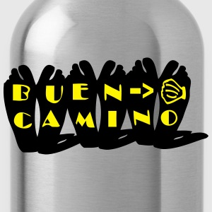 Buen Camino pilgrimage Men's Slim Fit T-Shirt - Water Bottle