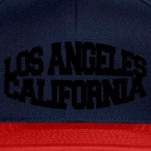 Navy los angeles california T-Shirts - Snapback Cap