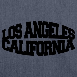 Navy los angeles california T-Shirts - Schultertasche aus Recycling-Material