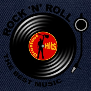 Rock 'n' Roll record player 03 Tee shirts - Casquette snapback