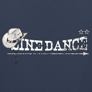 linedance T-Shirts - Men's Premium Tank Top