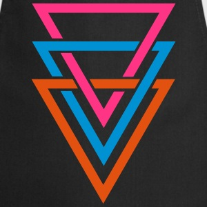 three triangles T-Shirts - Cooking Apron