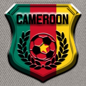 Gris chiné cameroon football T-shirts - Casquette snapback