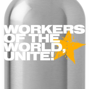 Wine Workers of the world, unite! Men's T-Shirts - Water Bottle