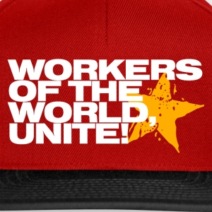 Wine Workers of the world, unite! Men's T-Shirts - Snapback Cap