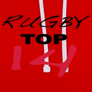 Rugby, top 14 - Sweat-shirt contraste