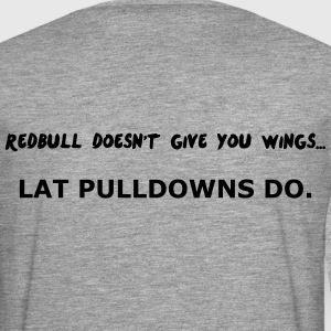 Redbull doesn't give Wing T-shirts - Mannen Premium shirt met lange mouwen