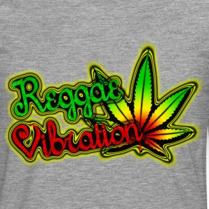 reggae vibration T-Shirts - Men's Premium Longsleeve Shirt