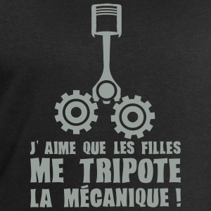 aime fille tripote mecanique piston expr Tee shirts - Sweat-shirt Homme Stanley & Stella