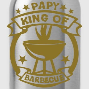 papy king roi barbecue logo fete 1 Tee shirts - Gourde