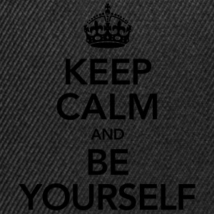 Keep Calm And Be Yourself T-Shirts - Snapback Cap