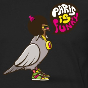 Paris is funky Tee shirts - T-shirt manches longues Premium Homme