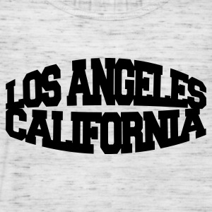 Gråmelert los angeles california T-skjorter - Singlet for kvinner fra Bella