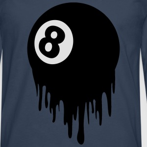 8 ball design T-Shirts - Men's Premium Longsleeve Shirt