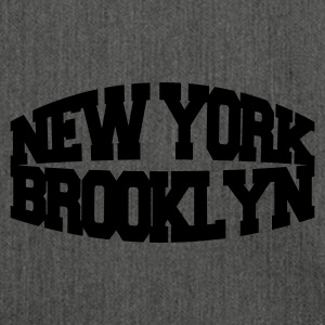 Grigio melange new york brooklyn T-shirt - Borsa in materiale riciclato