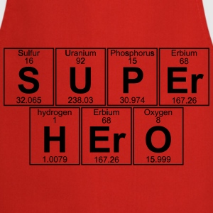 S-U-P-Er H-Er-O (super hero) - Full T-Shirts - Cooking Apron
