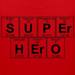 S-U-P-Er H-Er-O (super hero) - Full T-Shirts - Men's Premium Tank Top