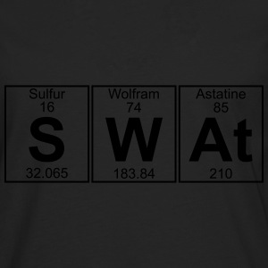 S-W-At (swat) - Full T-shirts - Långärmad premium-T-shirt herr