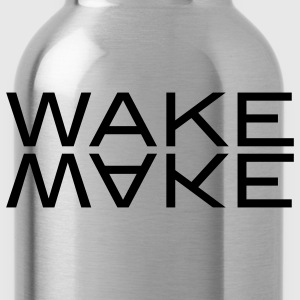 wake make T-shirts - Gourde