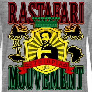 rastafari mouvement ethiopia T-Shirts - Men's Premium Longsleeve Shirt