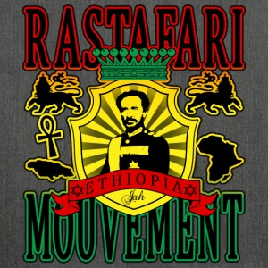 rastafari mouvement ethiopia T-Shirts - Shoulder Bag made from recycled material