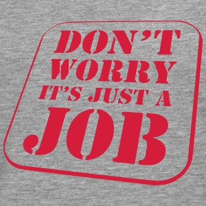 Worry Job Tee shirts - T-shirt manches longues Premium Homme