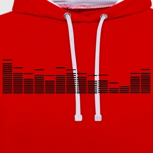 equalizer - Contrast Colour Hoodie