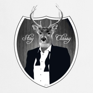 Deer in tuxedo T-Shirts - Cooking Apron