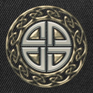 Celtic shield knot, Protection Amulet, Viking Camisetas - Gorra Snapback