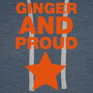 Ginger And Proud Star T-Shirts - Men's Premium Hoodie