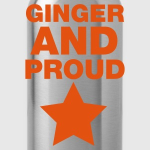Ginger And Proud Star T-Shirts - Water Bottle