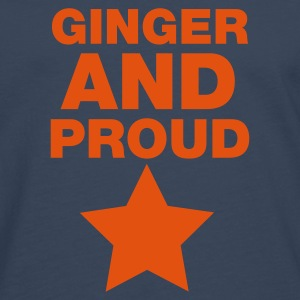 Ginger And Proud Star T-Shirts - Men's Premium Longsleeve Shirt