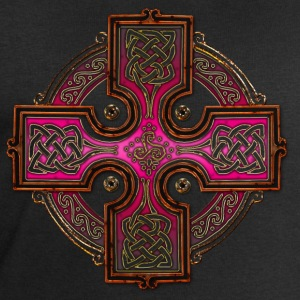 Pink Celtic Cross Triskellion.png Tee shirts - Sweat-shirt Homme Stanley & Stella