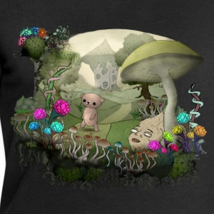 Teddy and the shrooms T-Shirts - Männer Sweatshirt von Stanley & Stella