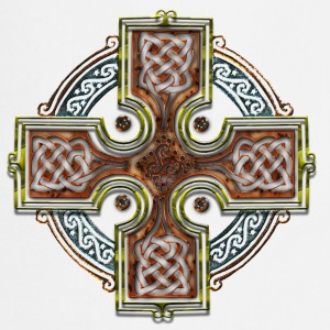 Celtic Cross Triskellion.png Tee shirts - Tablier de cuisine