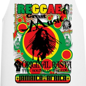 reggae great music original rasta Tee shirts - Tablier de cuisine