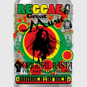 reggae great music original rasta Tee shirts - Gourde