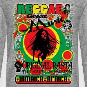 reggae great music original rasta Tee shirts - T-shirt manches longues Premium Homme