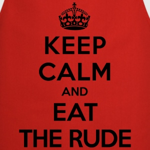 Keep calm and eat the rude (Hannibal) T-shirts - Keukenschort