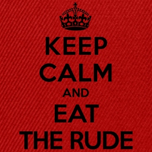 Keep calm and eat the rude (Hannibal) T-Shirts - Snapback Cap