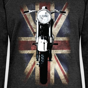 Vintage Motor Cycle BSA feature patjila T-Shirts - Women's Boat Neck Long Sleeve Top