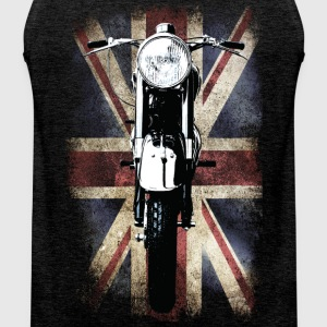Vintage Motor Cycle BSA feature patjila T-shirts - Mannen Premium tank top