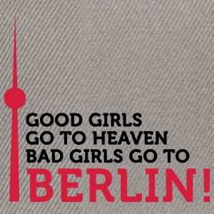 Bad Girls go to Berlin (2c) T-Shirts - Snapback Cap