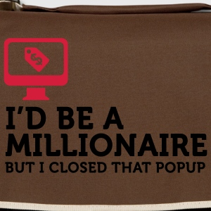 I'd be a Billionaire (2c) T-Shirts - Shoulder Bag