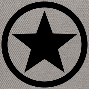 Star circle Anarchy Master Black Rebel Revolution  - Snapback Cap