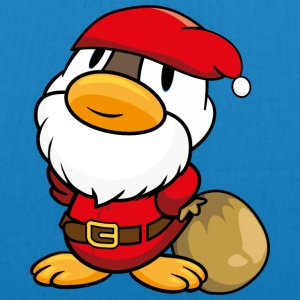 Duck Santa Claus T-Shirts - EarthPositive Tote Bag